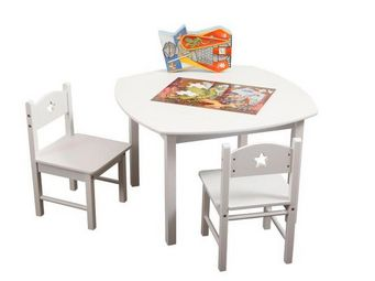 Miliboo - etoile table + 2 chaises - Kindertisch