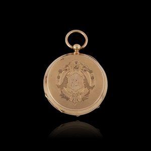 Expertissim - montre de gousset en or - Uhr