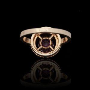 Expertissim - boucheron. bague ava or et tourmaline - Ring
