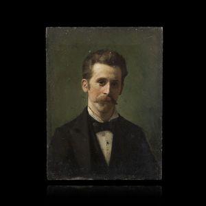Expertissim - vlacho bukovac. portrait d?homme - Porträt