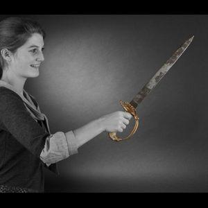 Expertissim - couteau de chasse, allemagne, première moitié du x - Jagdmesser