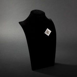 Expertissim - broche pendentif en or gris, diamants et perles de - Brosche