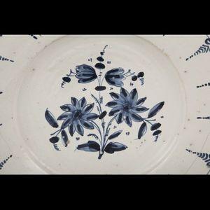Expertissim - espagne. grand plat rond creux en faïence - Runde Platte