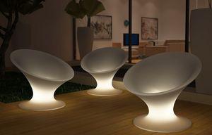LA NOMADE DU DESIGN -  - Beleuchteter Gartensessel