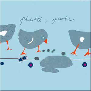 DECOHO - picoti picota - Dekorative Gemälde Für Kinder
