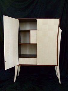 DAAN KOERS - armoirette palissandre des indes - Kleiner Schrank