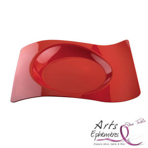 Arts Ephemeres - assiette jetable design - Plastikteller