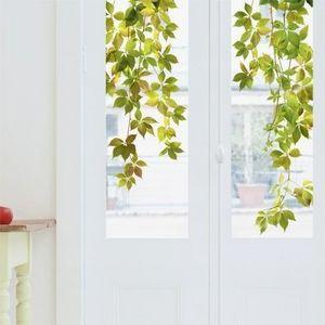 Nouvelles Images - sticker déco vitrage vigne vierge - Sticker