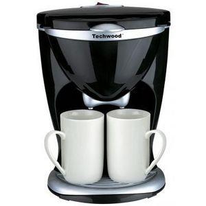 TECHWOOD - cafetière électrique duo - Elektro Kaffeemaschine