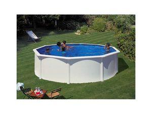 GRE - piscine varadero 240 x 120 cm - kitpr3070 - Pool Mit Stahlohrkasten
