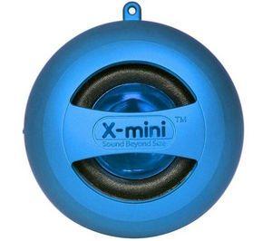 X-MINI - enceinte mp3 x mini ii - bleu - Lautsprecher Mit Andockstation
