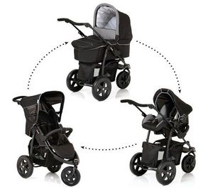HAUCK - pack poussette trio viper - caviar/grey - Buggy