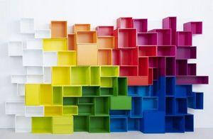 CUBIT® - bücherwand - Modulares Bücherregal