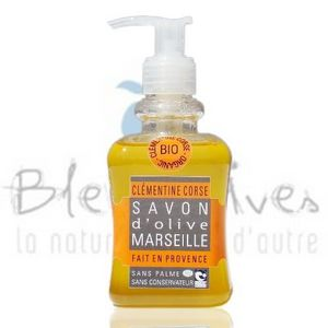TOMELEA - savon liquide clementine corse bio - 250 ml - tome - Flüssigseife