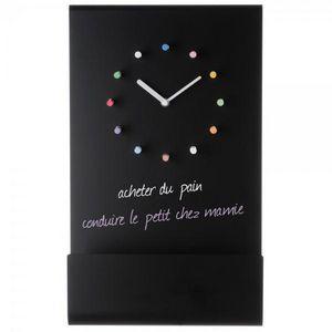 La Chaise Longue - horloge tableau + craies - Pendelwanduhr