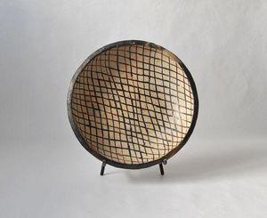 TINJA - quadrillé - Runde Platte