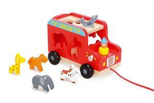 Scratch - circus truck - Nachziehspielzeug