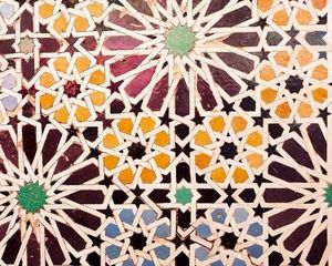 Moorisharts - comtemporain - Mosaikfußboden