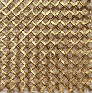 BRASS - g02 002-- - Dekorative Drahtzaun