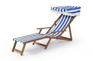 Southsea Deckchairs -  - Garten Liegesthul