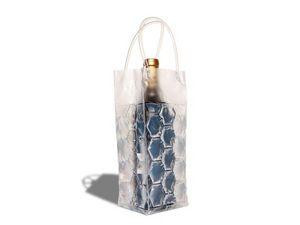 WHITE LABEL - sac réfrigérant - refroidisseur de boisson bleu de - Flaschenkühler