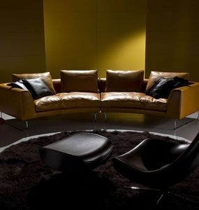 ITALY DREAM DESIGN - add-look round - Sofa 3 Sitzer