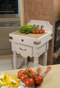 CHABRET - rustique - Küchenblock