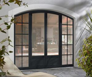 C2r menuiserie -  - Glasfensterfront
