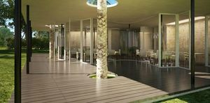 Agence Nuel / Ocre Bleu - -taj ponchidery - Ideen: Hotelterrassen
