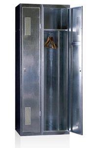 EVP - vestiaire galvanisé - Büro Garderobe