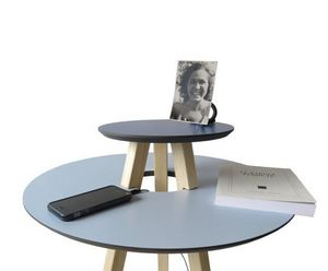 DESIGNOBJECT.it - round ufo table - Beistelltisch