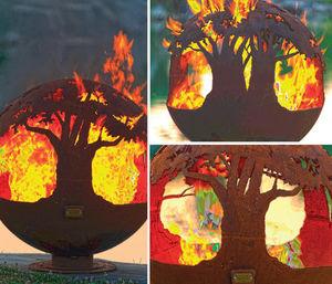 BRASEROS DESIGN - tree fo life - Feuerstelle