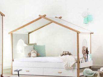 Miliboo - birdy - Hütte Bett Für Kinder