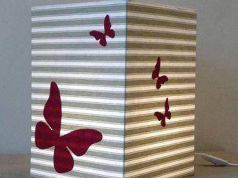 Voila Ma Maison - toile à matelas - Kinder Tischlampe