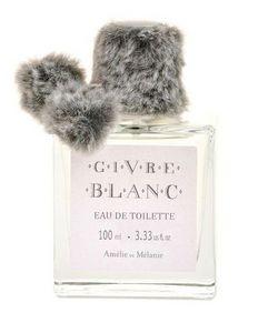 Amelie et Melanie - givre blanc - Parfum