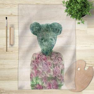 la Magie dans l'Image - foulard ma petite souris - Vierecktuch