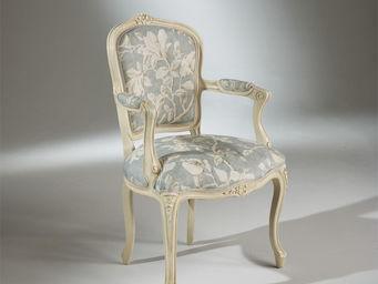Robin des bois - fauteuil louvre magnolias - Armsessel