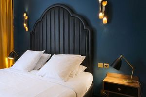 MICHAEL MALAPERT - hôtel andré latin_-- - Innenarchitektenprojekt Schlafzimmer