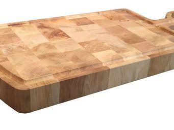CHABRET - planche billot en bois de charme avec lanière en c - Schneidebrett