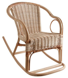 AUBRY GASPARD - fauteuil à bascule en rotin pour enfant - Schaukelstuhl