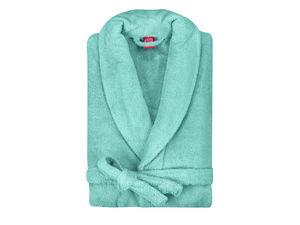 BLANC CERISE - peignoir capuche - coton peigné 450 g/m² sable - Bademantel