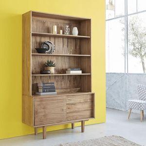 BOIS DESSUS BOIS DESSOUS - vaisselier en bois de mindy 120 fifties - Geschirrschrank
