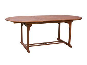 CEMONJARDIN - table bangkok ovale - grand modèle - Gartentisch Oval