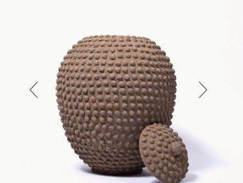 MAISON INTEGRE - poterie l - Vase Mit Deckel