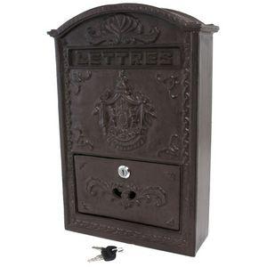 CHEMIN DE CAMPAGNE - boîte aux lettres boîte à lettre boîte à courrier  - Briefkasten