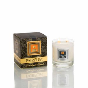 PAIRFUM - London - snow crystal candle - large - cognac & vanilla - Raumparfum