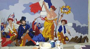 Atelier Follaco - la liberté - Wanddekoration