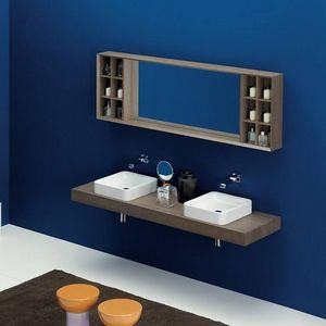 Flaminia -  - Doppelwaschtisch Möbel