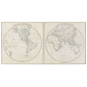 MAISONS DU MONDE - mappemonde 1419878 - Weltkarte