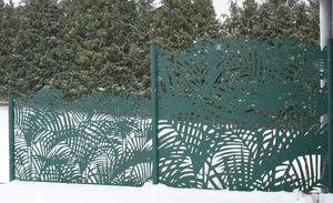 FRANCE RESILLE - palmier - Gitterzaun